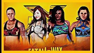 WWE 2K18 - SHAYNA VS DAKOTA KAI VS MICKIE JAMES VS KAIRI SANE #NXT