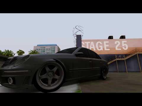 GTA SA - E63 + New ENB Showcase
