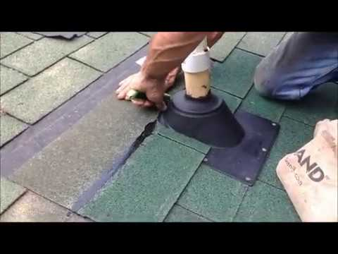 How To Install A Pipe Boot On Your Roof Youtube