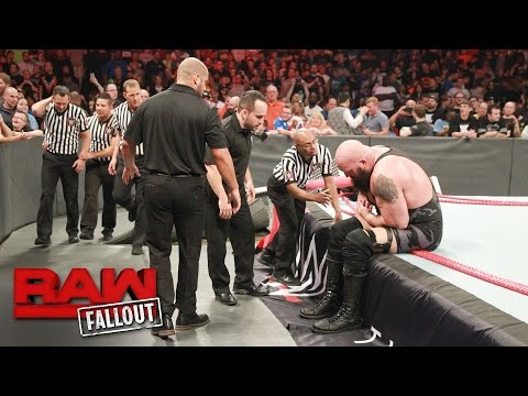Thumbnail: Big Show exits the arena following the destructive conclusion of Raw: Raw Fallout, April 17, 2017