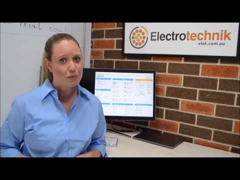 ELEK Cable Pro Cable Sizing and Max Demand Software Introduction