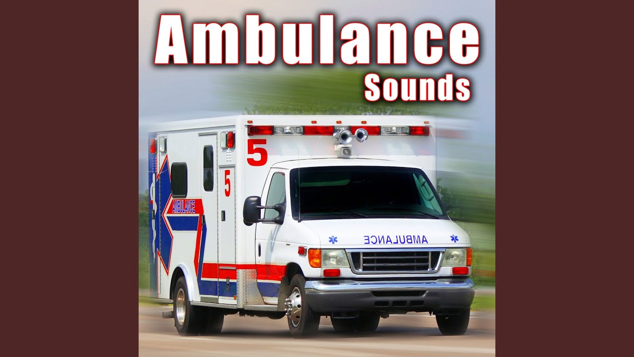 Ambulance Internal Perspective Reversing With Beeper Radio Sound Chatter