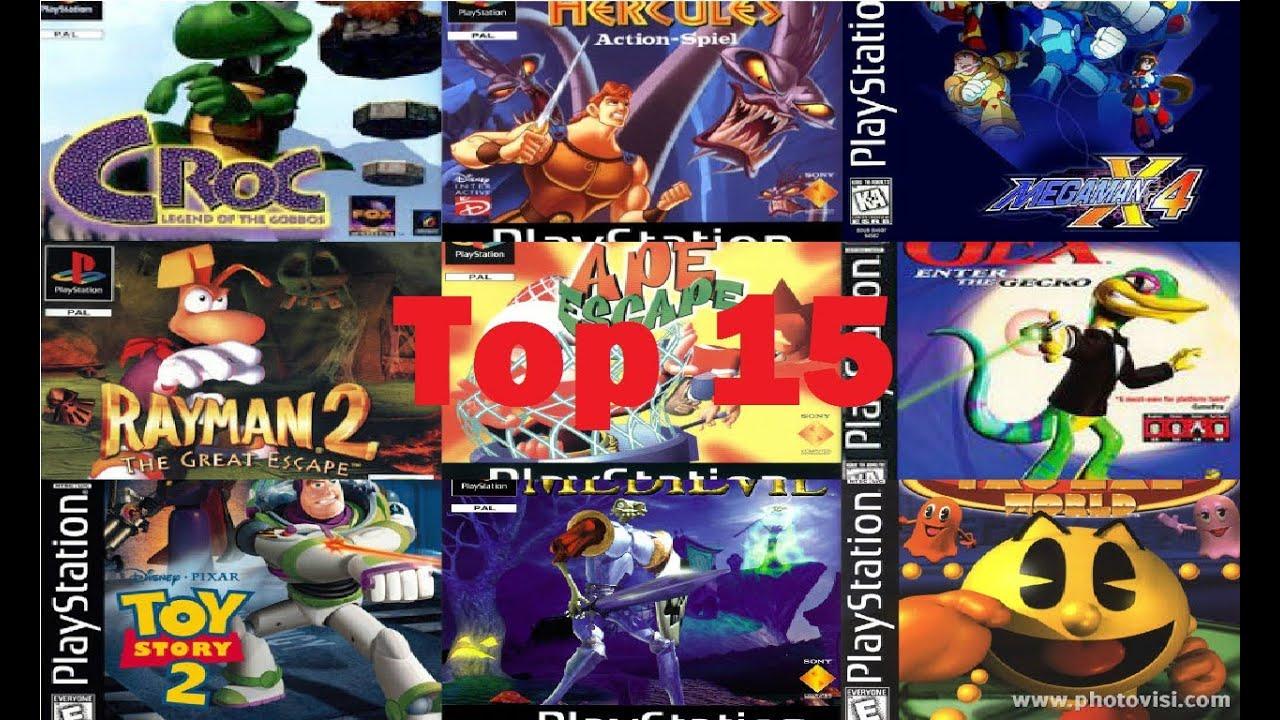 Top 15: Juegos de plataformas Ps1 - YouTube
