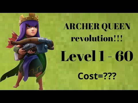 Archer Queen Upgrade Cost (Level 1 To 60) 2018 || Muhammad Arshan Saeed