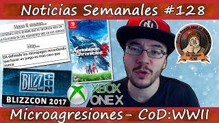 Noticias semanales #128 - Ingresos MACROPAGOS - CoD: WWII - Pachter - Xbox One X - Blizzcon 2017