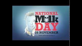 National Milk Day - raising a glass of milk for Dr. Kurien