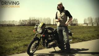 Rijtest Triumph Thruxton