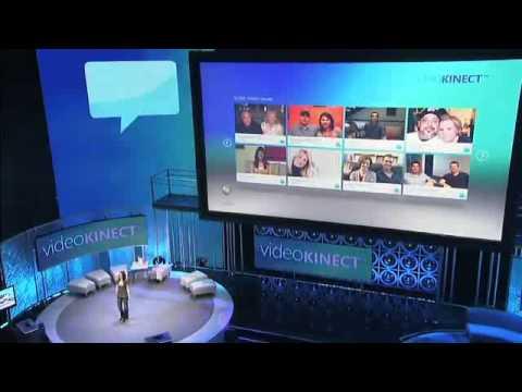 Xbox 360- E3 2010- Windows Live Messenger and Kinect