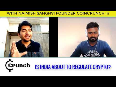 INDIA BITCOIN Regulation DRAFT IN THE FINAL STAGE?? WITH COIN CRUNCH