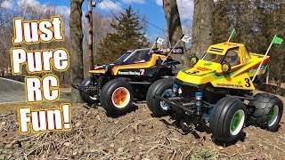 Fun Buggy Blitz! Tamiya WR-02CB Comical Hornet & Grasshopper With Options Review   RC Driver