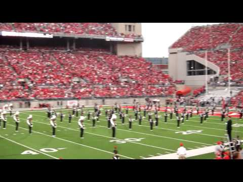 OSUMB Sweet Caroline Penn St Show from the 50 yd line 11 13 2010