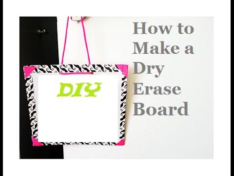 {diy}-dry-erase-board