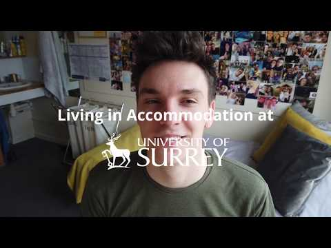 Play video: Living in Accommodation | University of Surrey