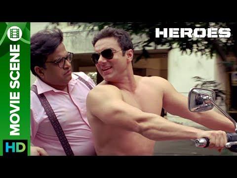 Ladki Gharpe Akeli Hai, Ding Dong Karne Jana Hai   Movie Scene   Heroes   Sohail Khan
