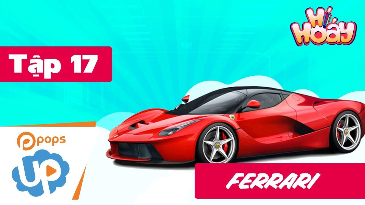Drawing And Coloring Ferrari Car SUPER EASY | Car Racing For Kids