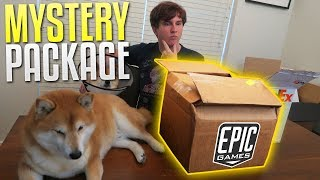 Mystery Package from Epic Games! (Fortnite)
