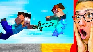 Reacting To THE BEST Minecraft Animations