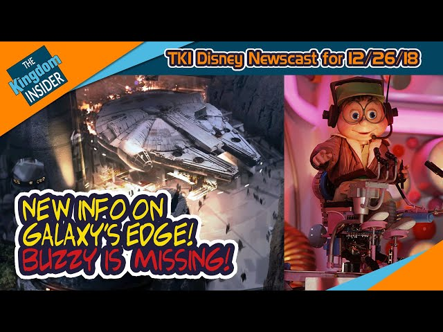 STAR WARS Galaxy's Edge New Details! Buzzy is MISSING from Epcot!