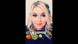 Go Grocery Shopping with me! Weight Watchers Freestyle Haul