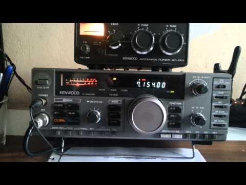 Qso radio amateur francais avec ts 140s