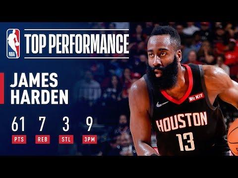 James Harden's UNBELIEVABLE Clutch 61 Point Performance | March 22, 2019 thumbnail