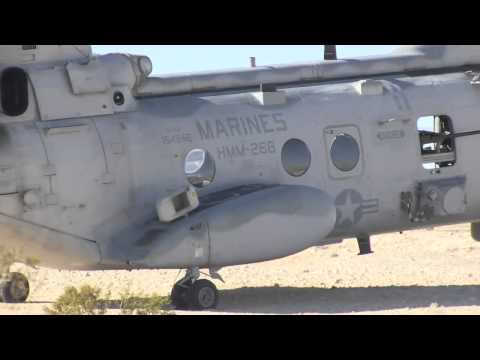 U.S. Marine Corps CH-46 Sea Knights - Large Scale Exercise