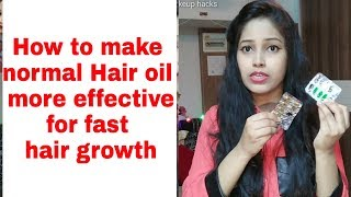 Hair oiling and Haircare tips in Hindi Make normal hair much effective Vitamin E capsules for hair