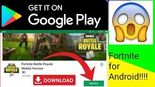 Fortnite Android-Download Fortnite Android ON Play Store Skip Verification