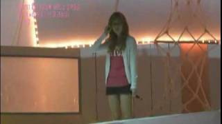 Fancam 090801 SNSD Jessica - One Year Later Rehearsal