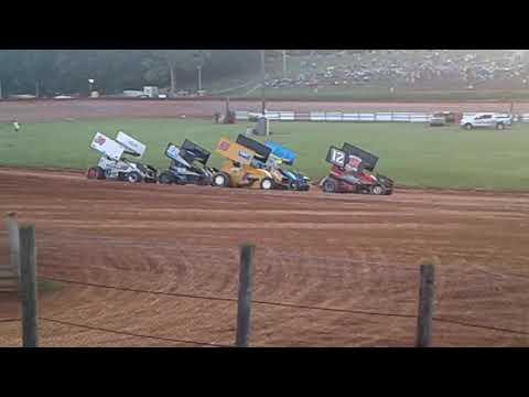 2017 Bloomington speedway heat win