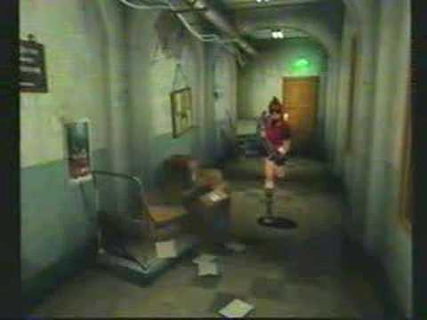 RE2 Claire B02 Meeting Leon At STARS Office