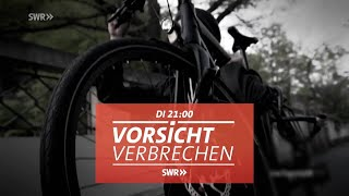 """Gegen die Radlosigkeit: Schutz vor Fahrraddiebstahl. """"Vorsicht Verbrechen"""" im SWR Fernsehen"""