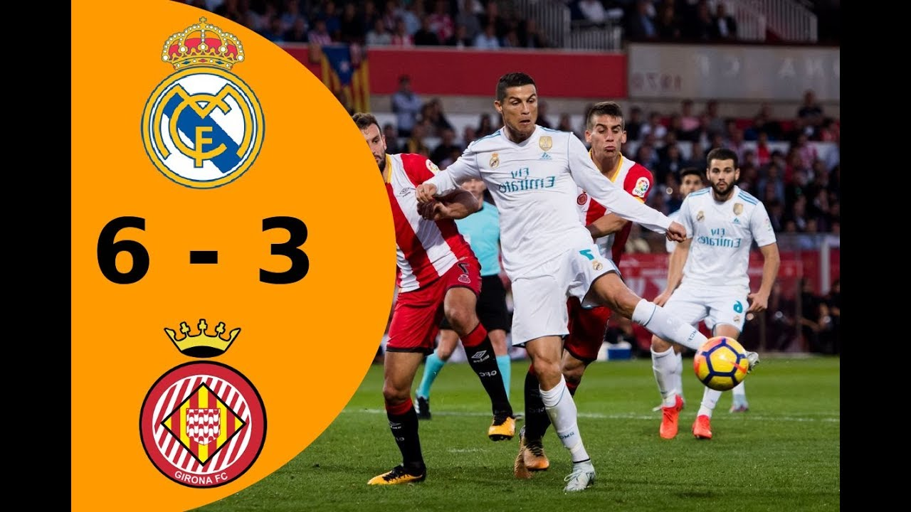 Download La Liga - Real Madrid vs Girona 6-3 - All Goals & Highlights - 18/03/2018