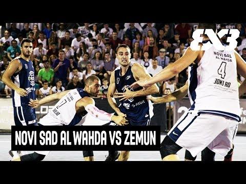 Novi Sad al Wahda vs Zemun - Full Game - Semifinal - FIBA 3x3 Bucharest Challenger 2017
