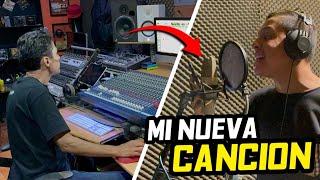 GRABANDO MI NUEVA CANCIÓN CON WICHO ORTIZ.. | ManuelRivera11