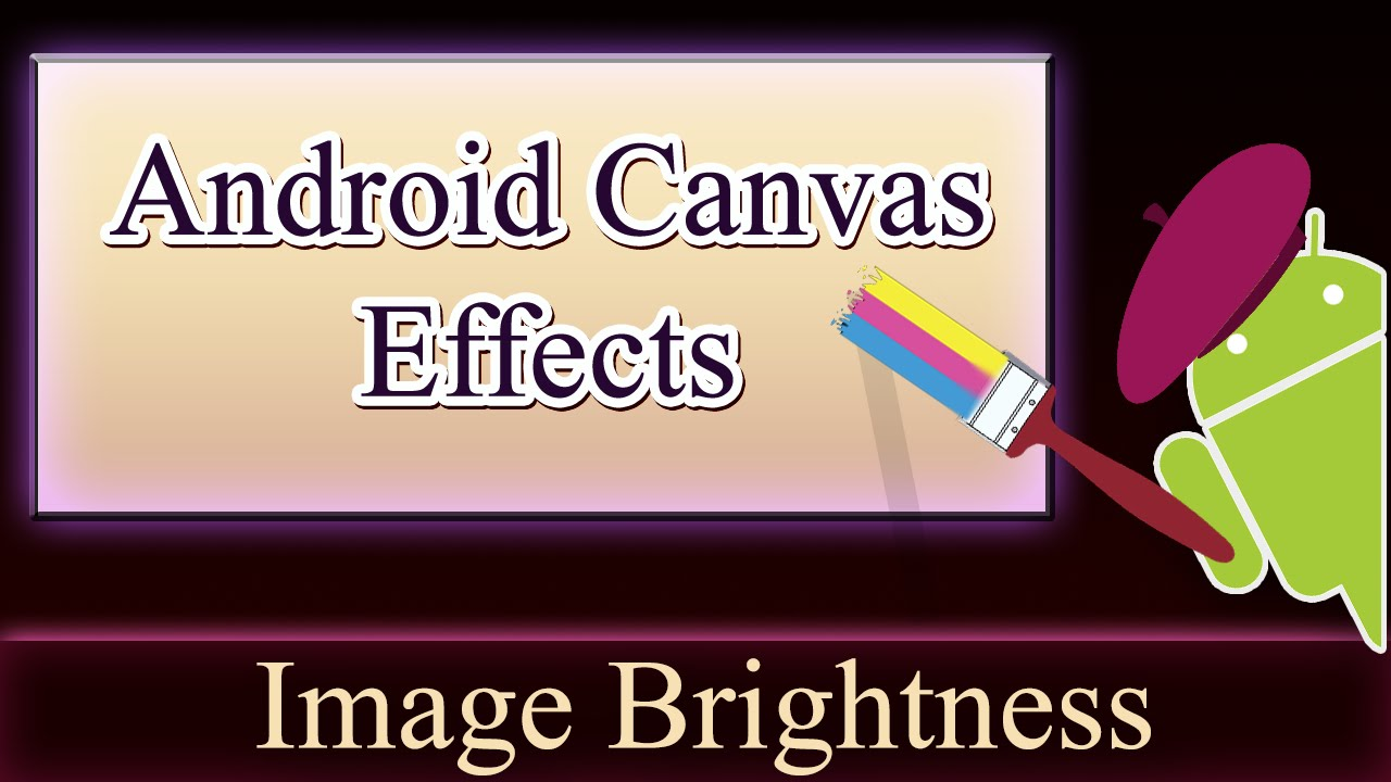 Android Canvas - Adjusting Bitmap Brightness