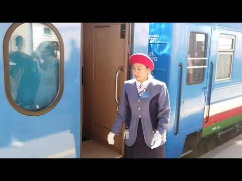 Нижний Бестях: Прибытие первого пассажирского поезда