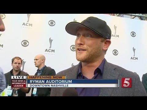 Stars Walk Red Carpet At ACM Honors