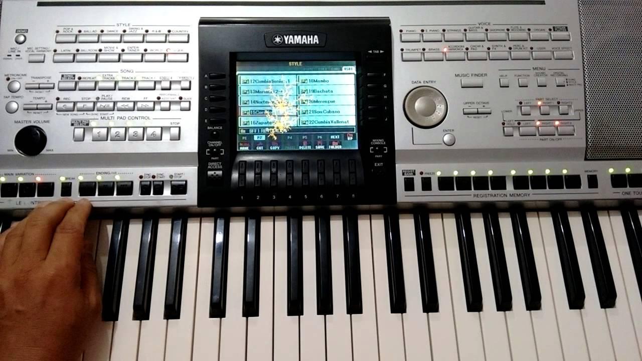 ritmos para teclado yamaha psr 3000 gratis