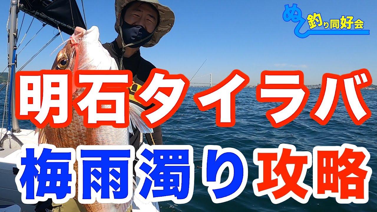 【明石タイラバ】梅雨濁りに効くネクタイ【攻略】