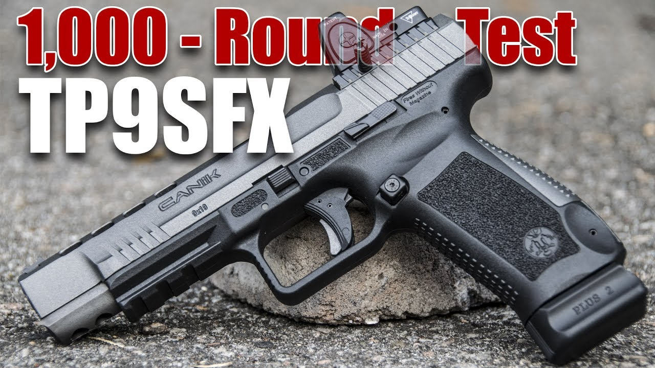 Canik TP9SFX 1,000-Round Review