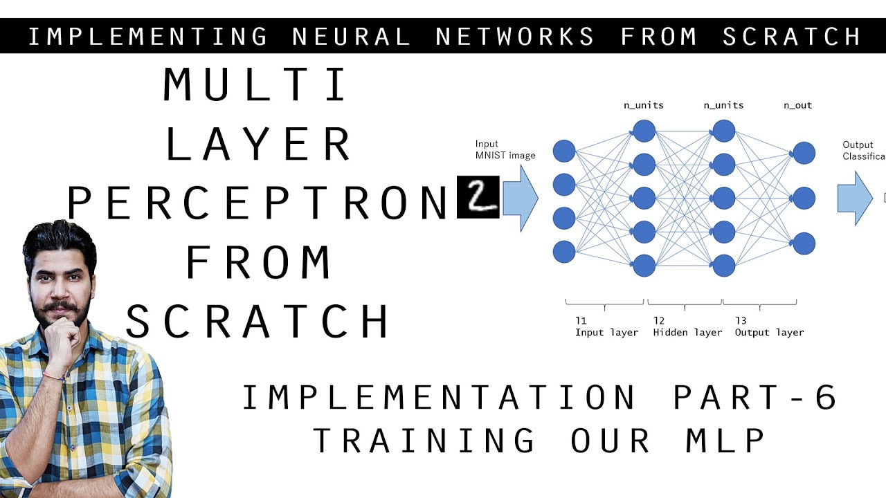 Coding Neural Network from Scratch Part 6 - Training Our MLP