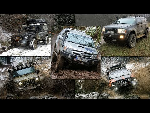 Jeep Grand Cherokee vs Jeep Wrangler vs Land Rover Defender vs Toyota Hilux