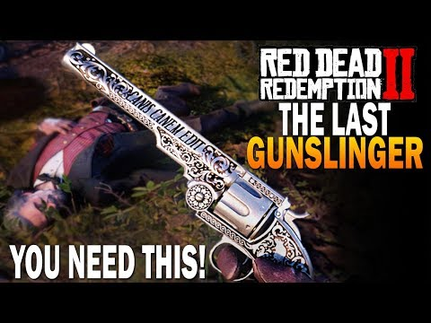 The Final Legendary Gunslinger! Get The RARE Calloway Revolver! Red Dead Redemption 2 Best Weapons