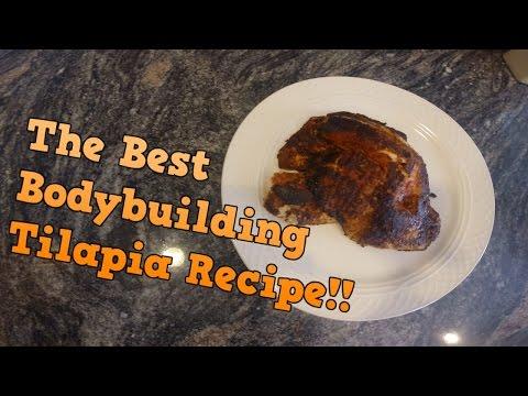 Best Bodybuilding Tilapia Recipe!! | Fat Loss Recipe! | Best Fat Loss Fish Recipe
