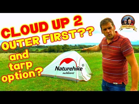 outer-first-and-tarp-set-up??-naturehike-cloud-up-2-ultralight-tent-review!