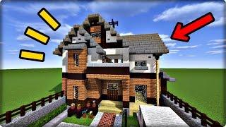 【マインクラフト】現代風の家を建築してみる【家の作り方】 thumbnail
