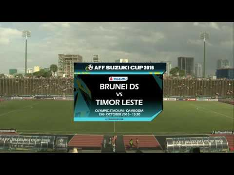Brunei DS vs Timor Leste (AFF Suzuki Cup 2016: Qualification Round)