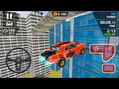 Smash Car Hit - Impossible Stunt New Vehicule #5 Android Gameplay