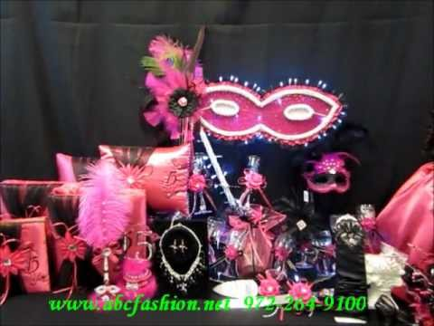 $1195 Quinceanera Centerpiece - Mask or Masquerade Theme ...